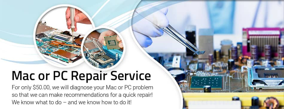 Mac Or PC Repair Huntington Beach