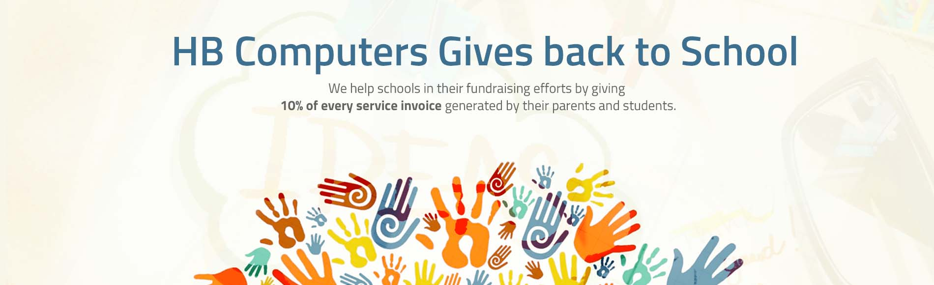 HB Computers Gives Back to Schools