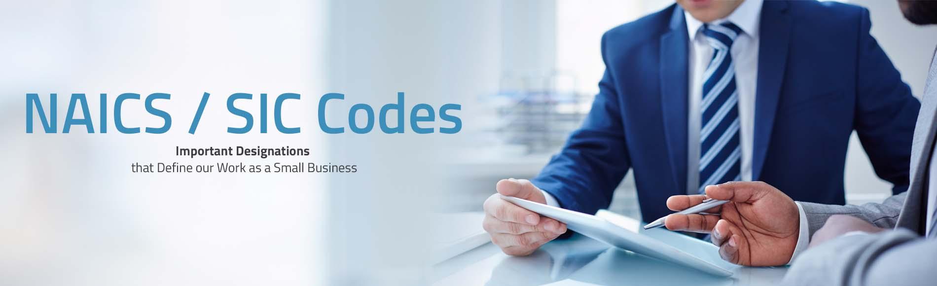NAICS / SIC Codes