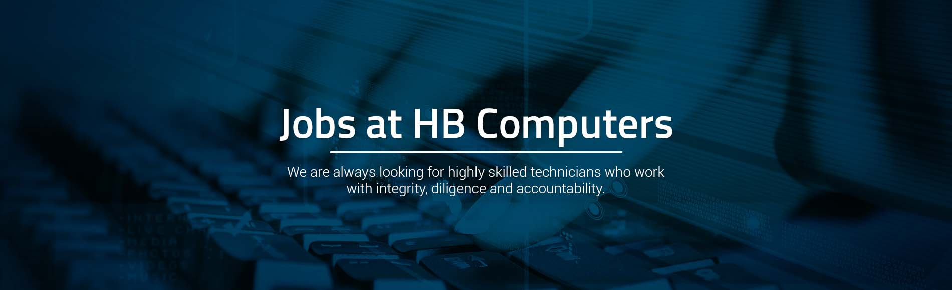 Jobs at HB Computers