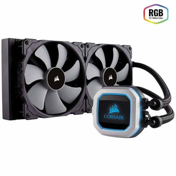 CORSAIR Hydro Series H115i Pro RGB Low Noise 280 MM RGB
