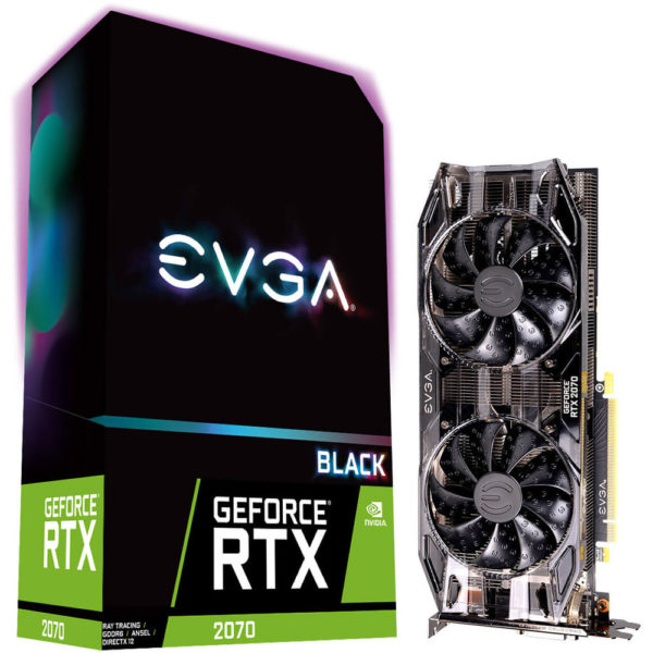 EVGA GeForce XC Gaming RTX 2070 Dual HDB Fans