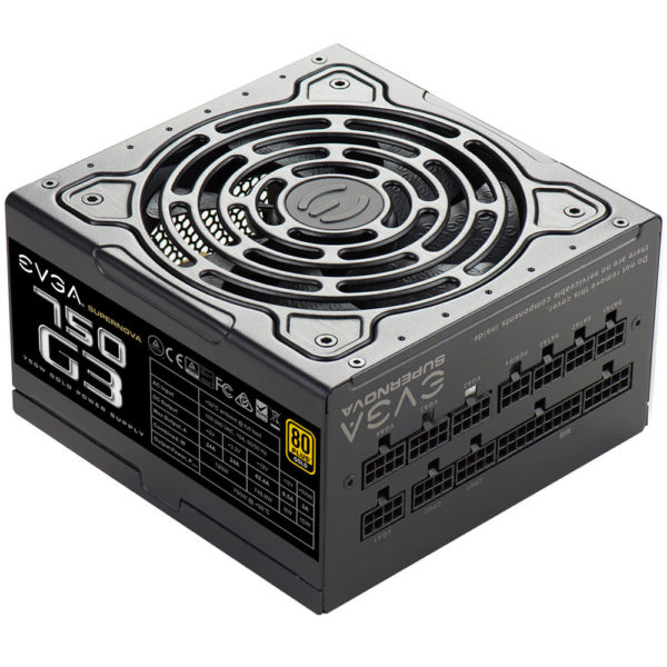 EVGA SUPERNOVA G3 750 Watt 80 Plus Gold