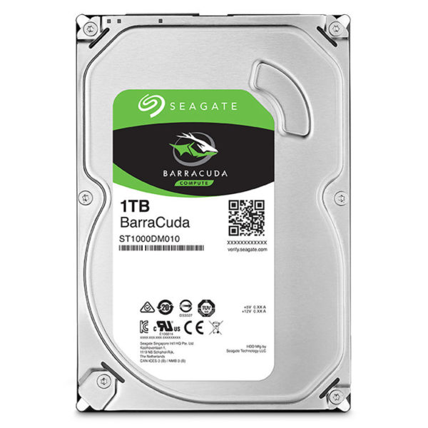 "SEAGATE BarraCuda 1Tb 7200 RPM SATA III 6Gb_s 3.5"" OEM Internal Hard Drive"