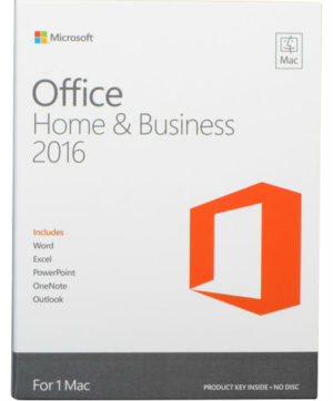 Microsoft Office 2016 Home & Business (For 1 Mac - Single User)